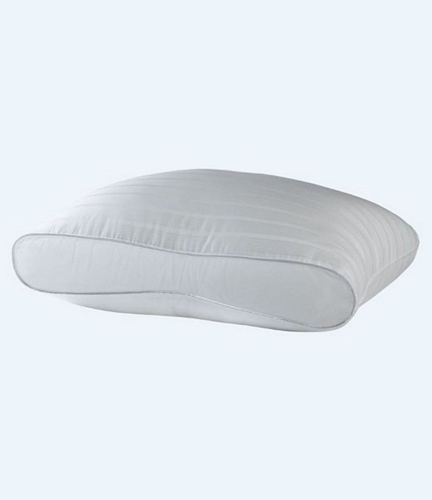 Noble Excellence Infinity-Gussted 300-Thread-Count Dobby Memorelle Pillow