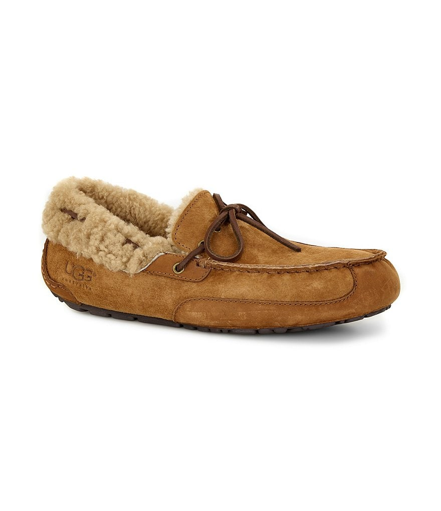 UGG® Men's Fleming Water-Resistant Slippers
