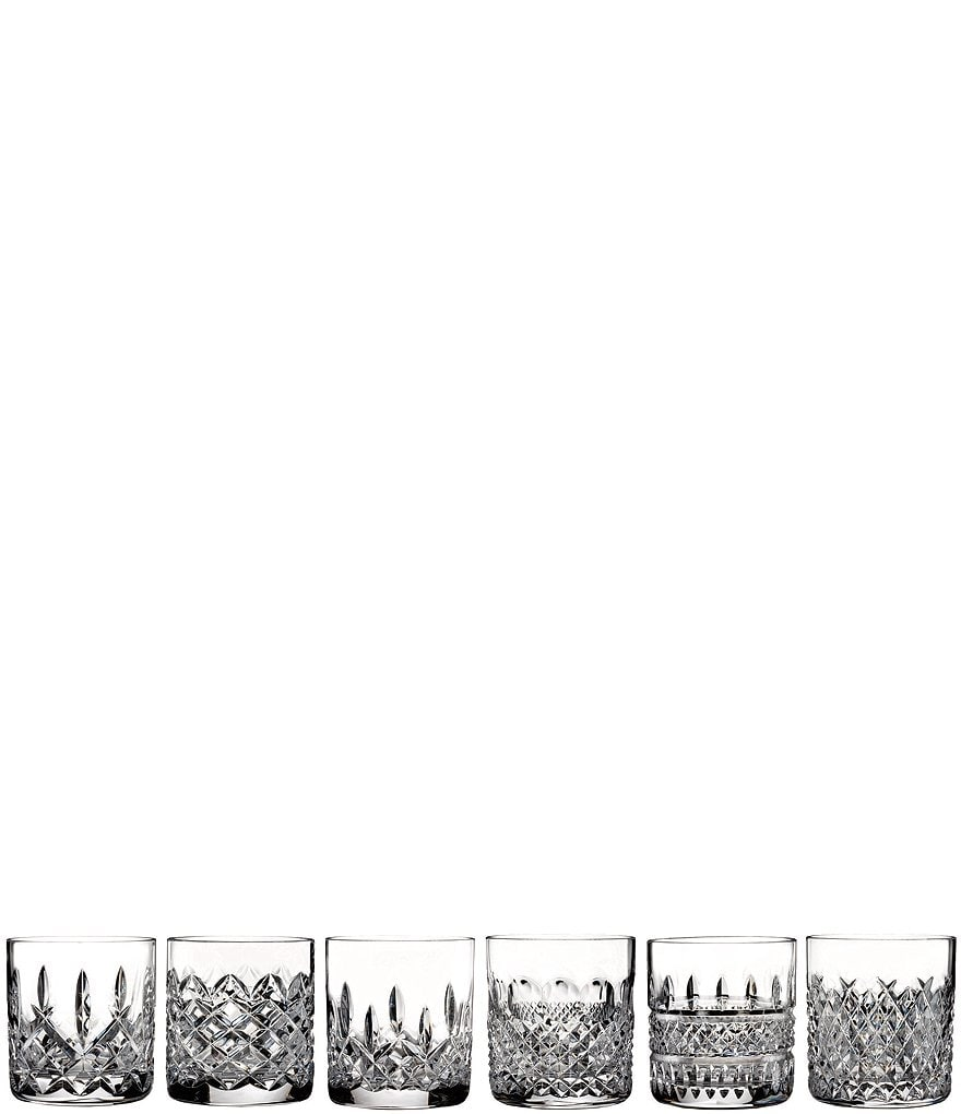Waterford 6-Piece Heritage Crystal Tumbler Set