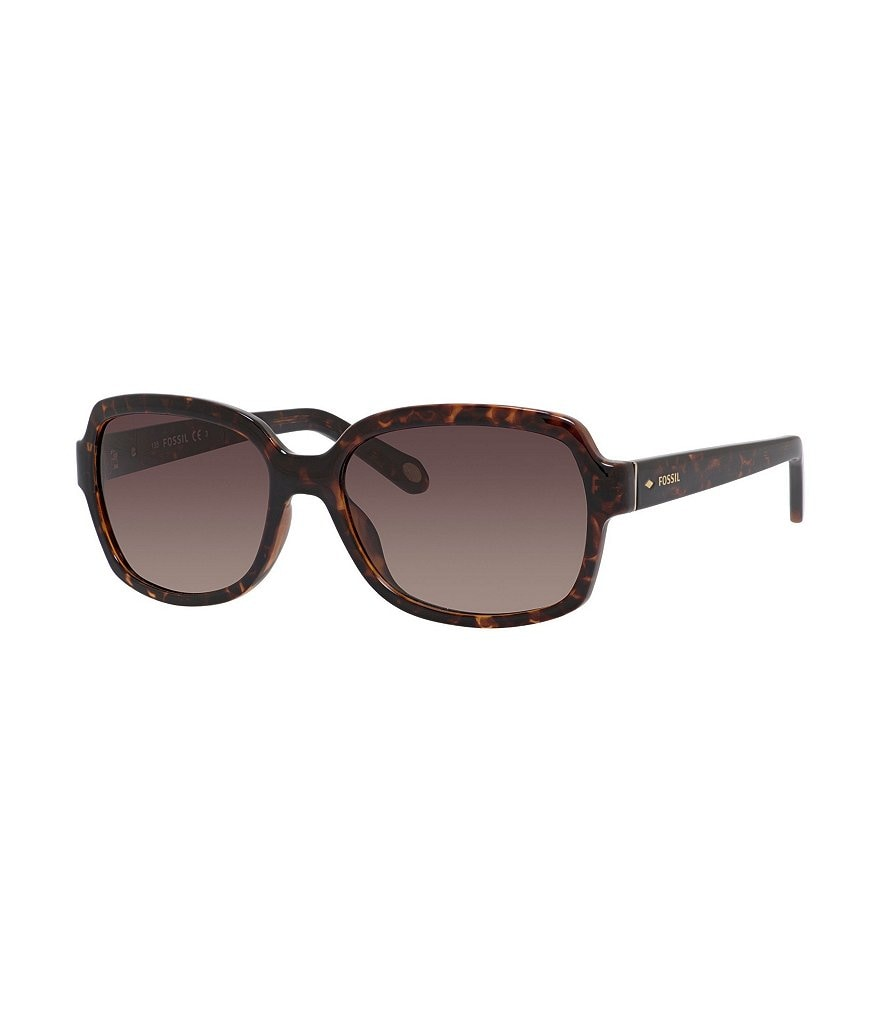 Fossil Gradient Square Butterfly Sunglasses
