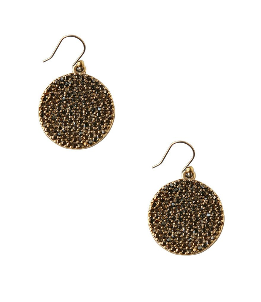 Lucky Brand Disk Earrings