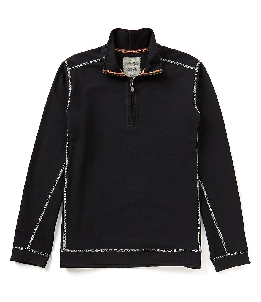 Tommy Bahama New Ben And Terry Half-Zip Pullover