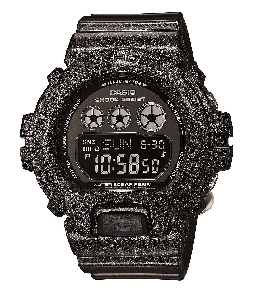 G-Shock Black Digital S Series Watch