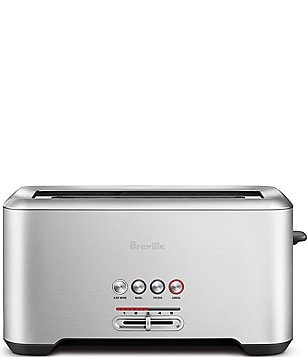 Breville The Bit More Long-Slot 4-Slice Toaster