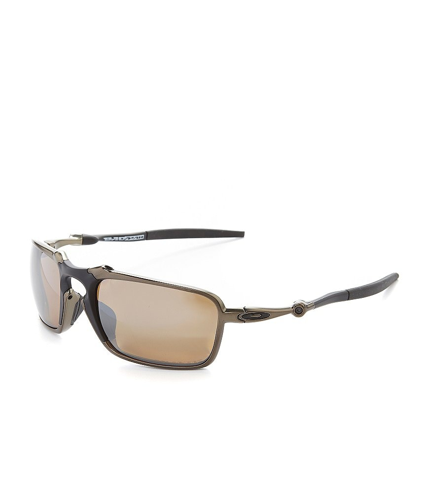 Oakley Polarized Badman Sunglasses