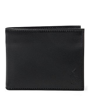 Polo Ralph Lauren Burnished Leather Window Billfold