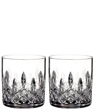 Waterford Lismore Crystal Straight Tumbler Pair