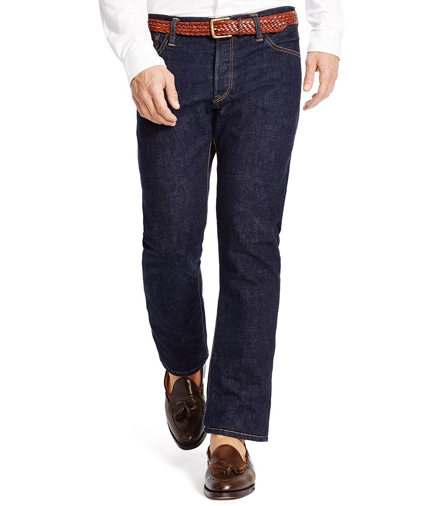 Polo Ralph Lauren Varick Slim-Straight Rinse-Wash Jeans