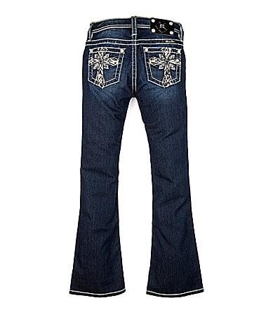 Miss Me Girls 7-16 Cross-Pocket Denim Jeans