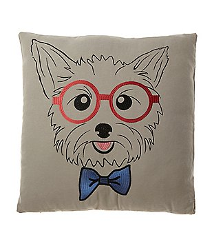 Loom & Mill Yorkie Oversized Pillow