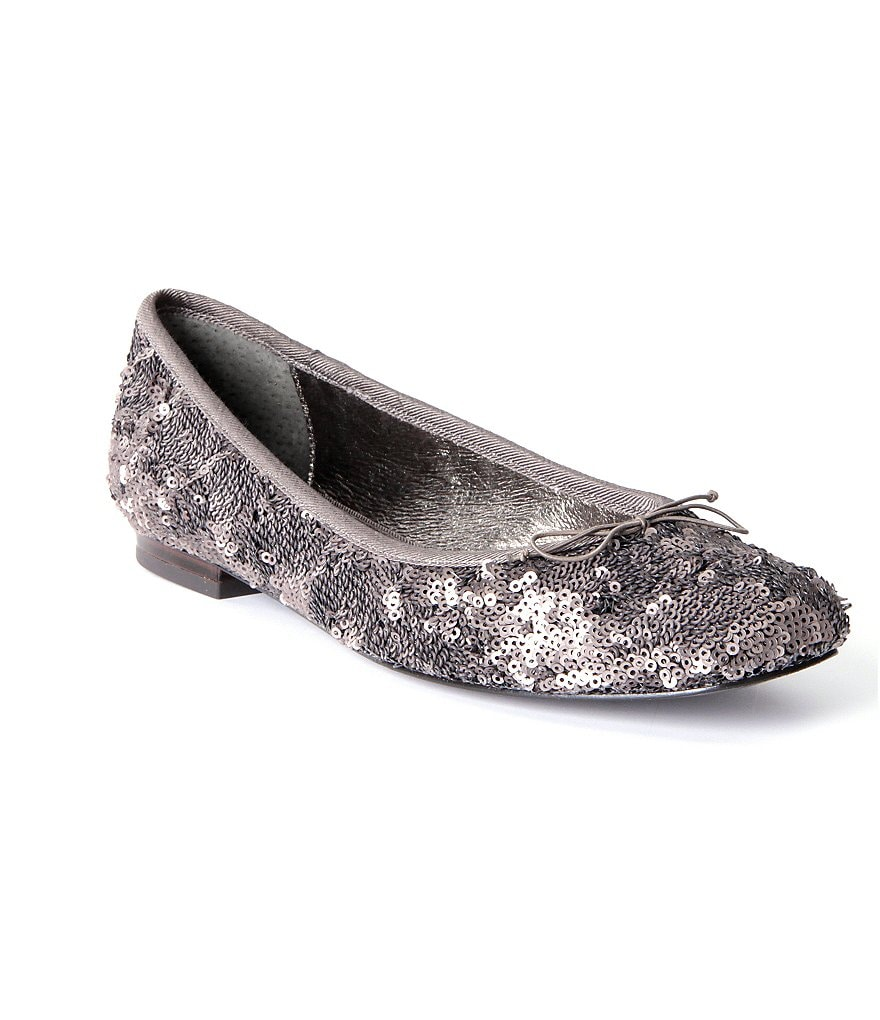 Adrianna Papell Zoe Sequined Ballet Flats