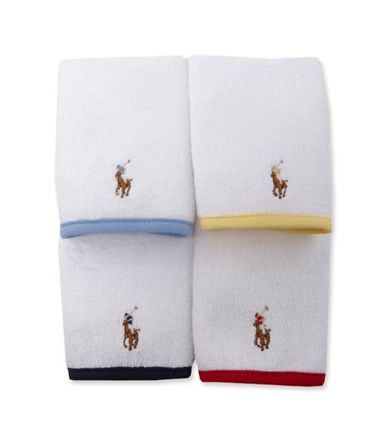 Ralph Lauren Childrenswear Washcloth Set