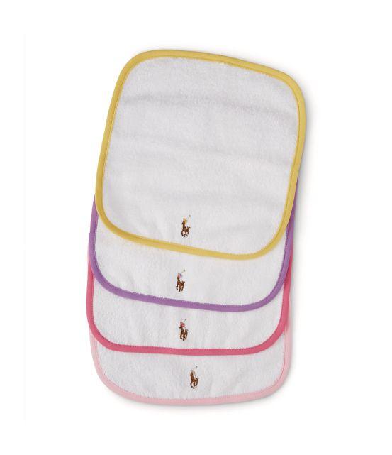 Ralph Lauren Childrenswear Set of Four Washcloths