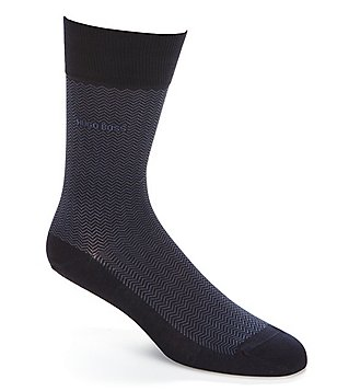 BOSS Hugo Boss David RS Design Herringbone Crew Socks