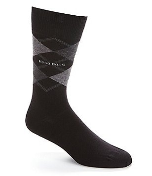 BOSS Hugo Boss James RS Design Argyle Crew Socks