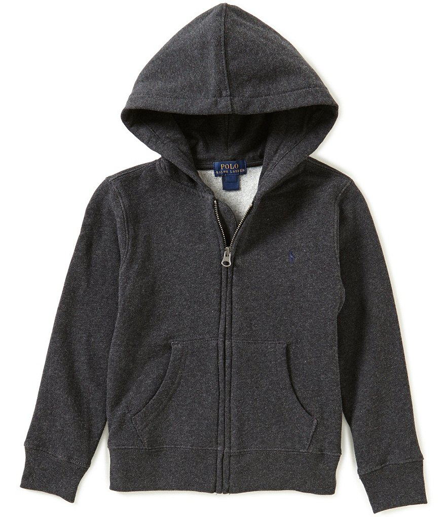 Ralph Lauren Childrenswear Little Boys 2T-7 Full-Zip Hoodie