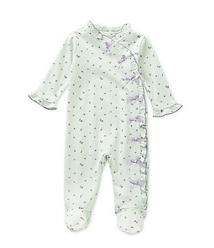 Starting Out Baby Girls Newborn-6 Months Floral Coveralls