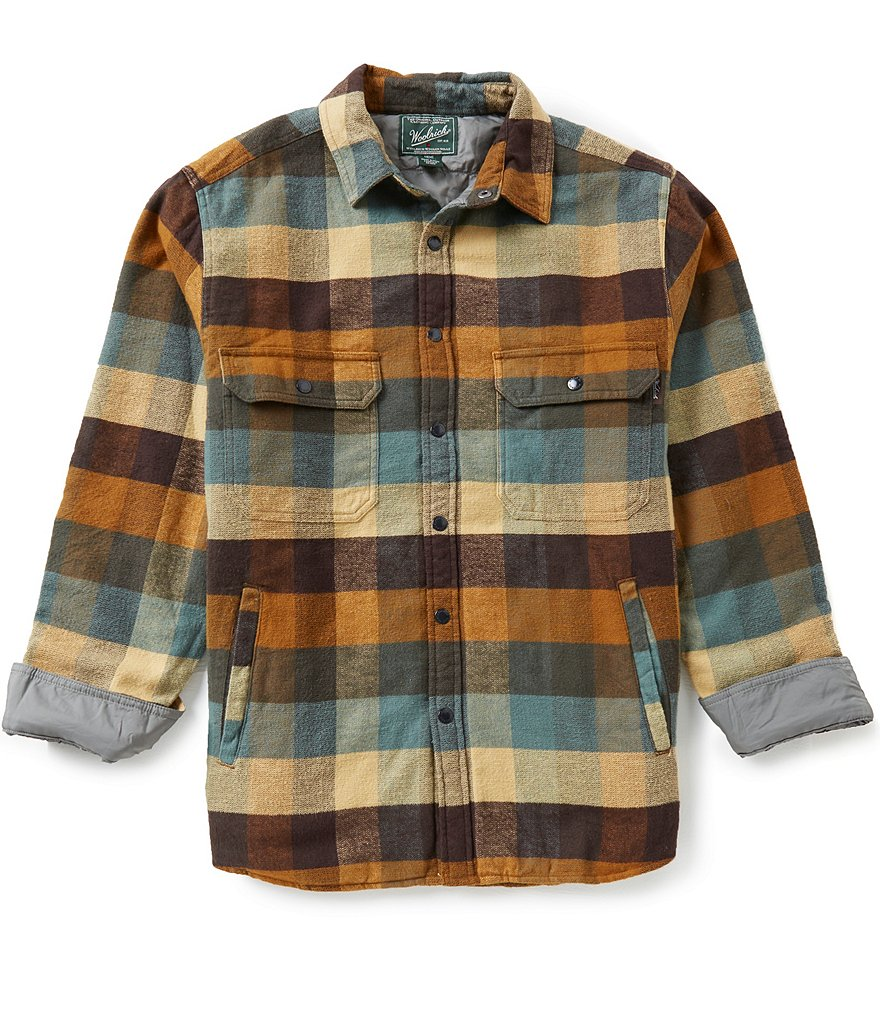Woolrich Long-Sleeve Oxbow Bend Lined Shirt Jacket