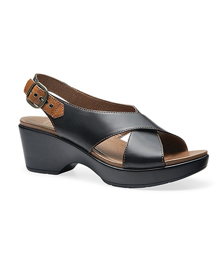 Black dansko sandals clearance