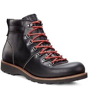 ECCO Holbrook Leather Water-Resistant Boots