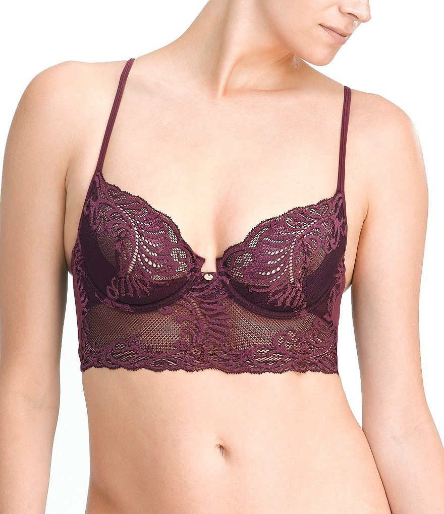 Natori Feathers Unlined 3/4 Bra