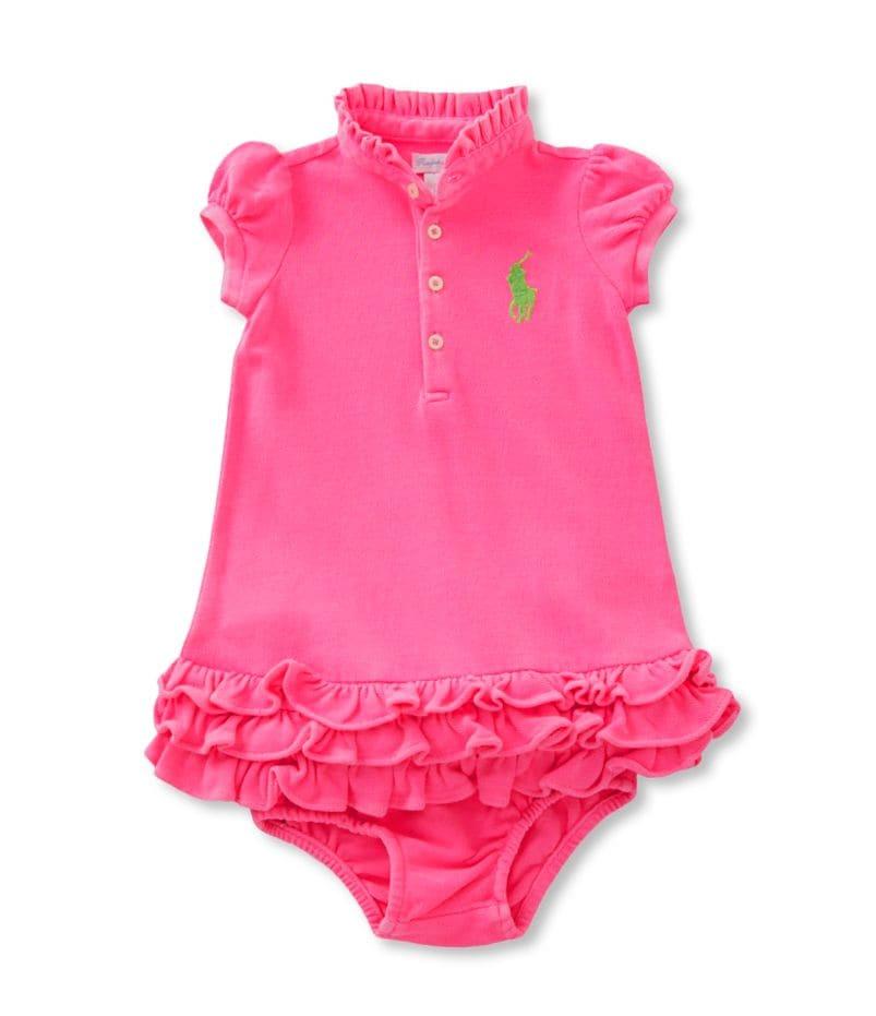 Ralph Lauren Childrenswear 3-24 Months Tiered Mesh Dress