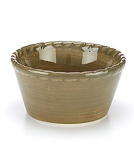 Artimino Tuscan Countryside Rope-Edged Stoneware Ramekin Image
