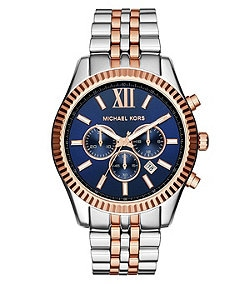 Michael Kors Men�s Lexington Two-Tone Chronograph Watch