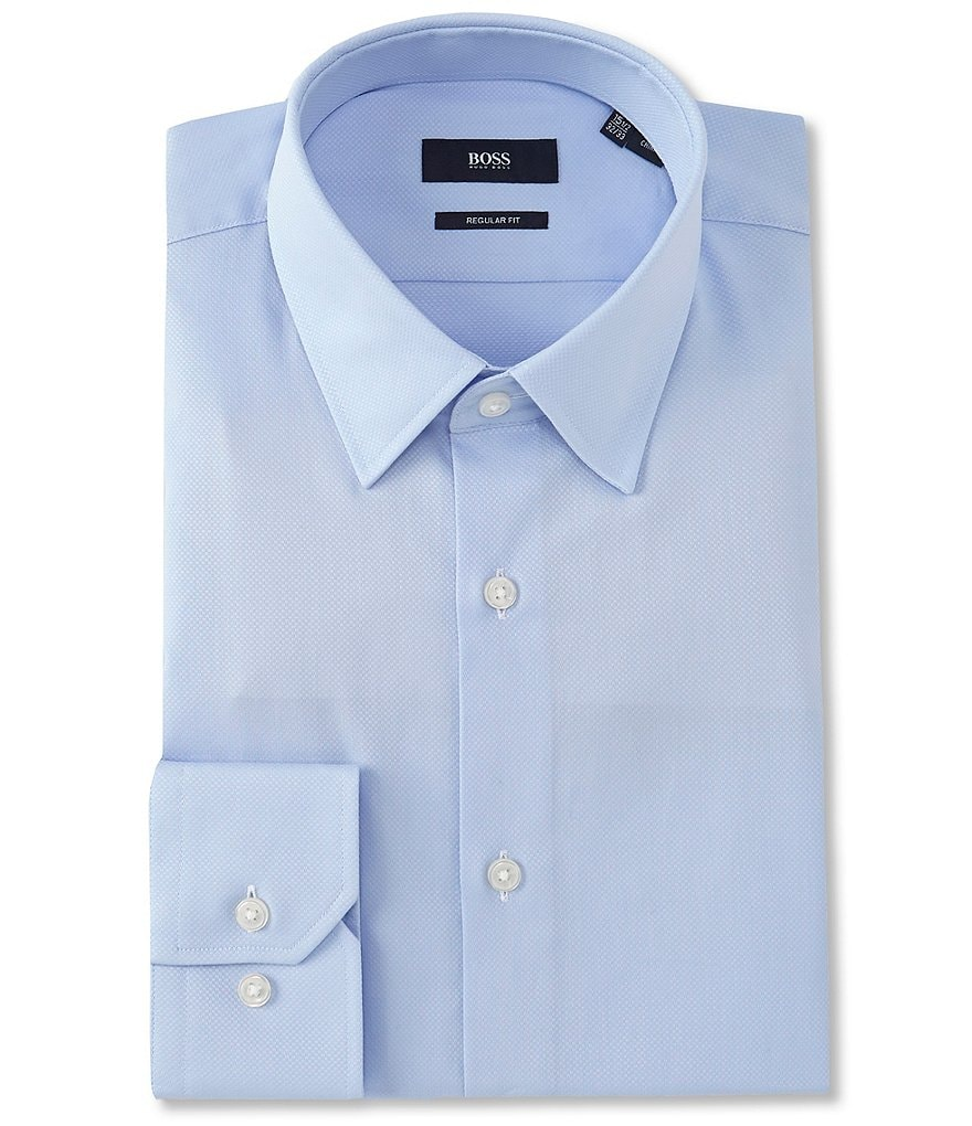 BOSS Hugo Boss Regular Classic-Fit Point-Collar Dress Shirt