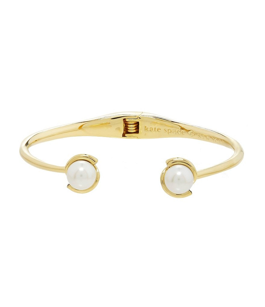 kate spade new york Dainty Sparklers Pearl Cuff