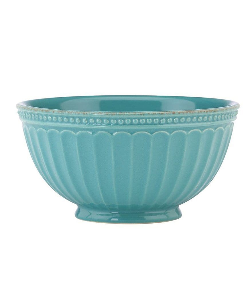 Lenox French Perle Groove Stoneware Everything Bowl