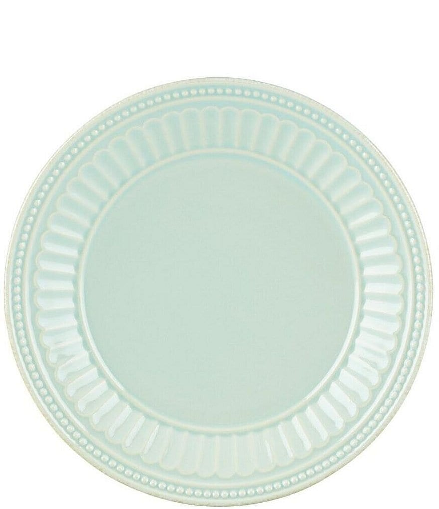 Lenox French Perle Groove Stoneware Everything Accent Plate