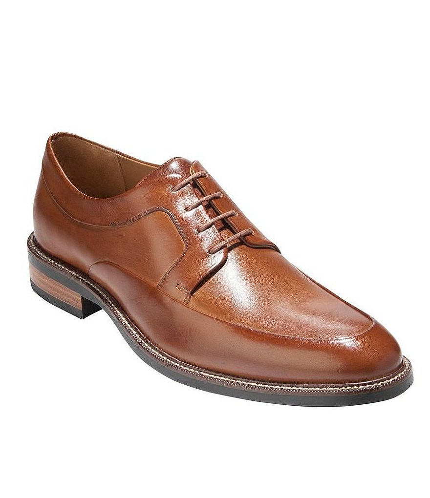 Cole Haan Warren Grand Apron-Toe Dress Shoes