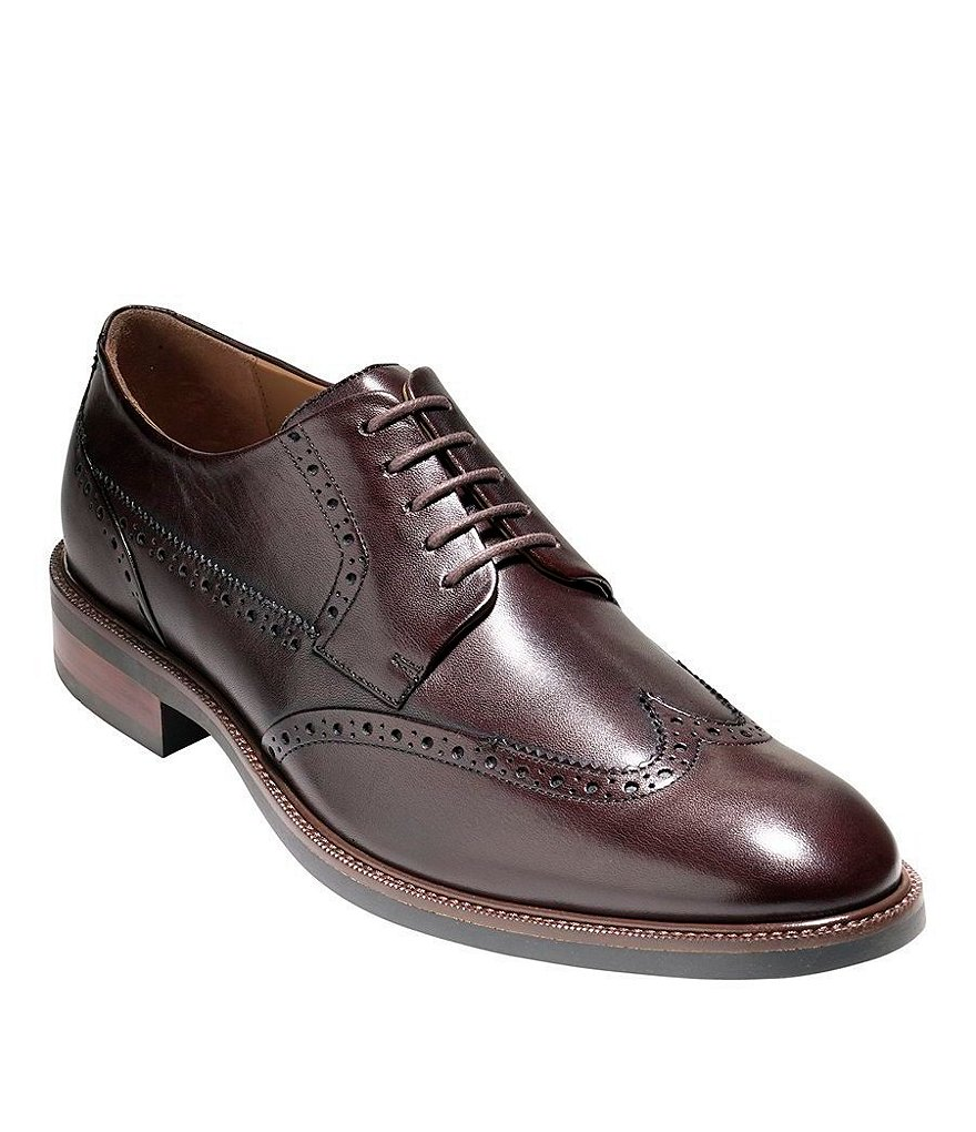 Cole Haan Warren Grand Wingtip Dress Shoes