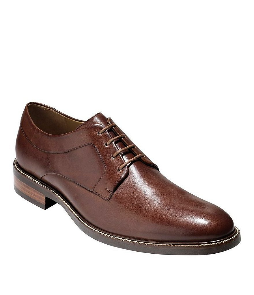Cole Haan Warren Grand Plain-Toe Oxfords