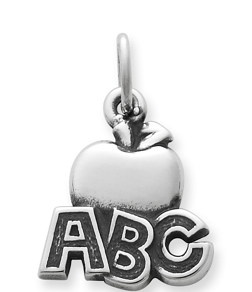 James Avery ABC Apple Charm