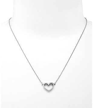 James Avery Petite Heart Necklace
