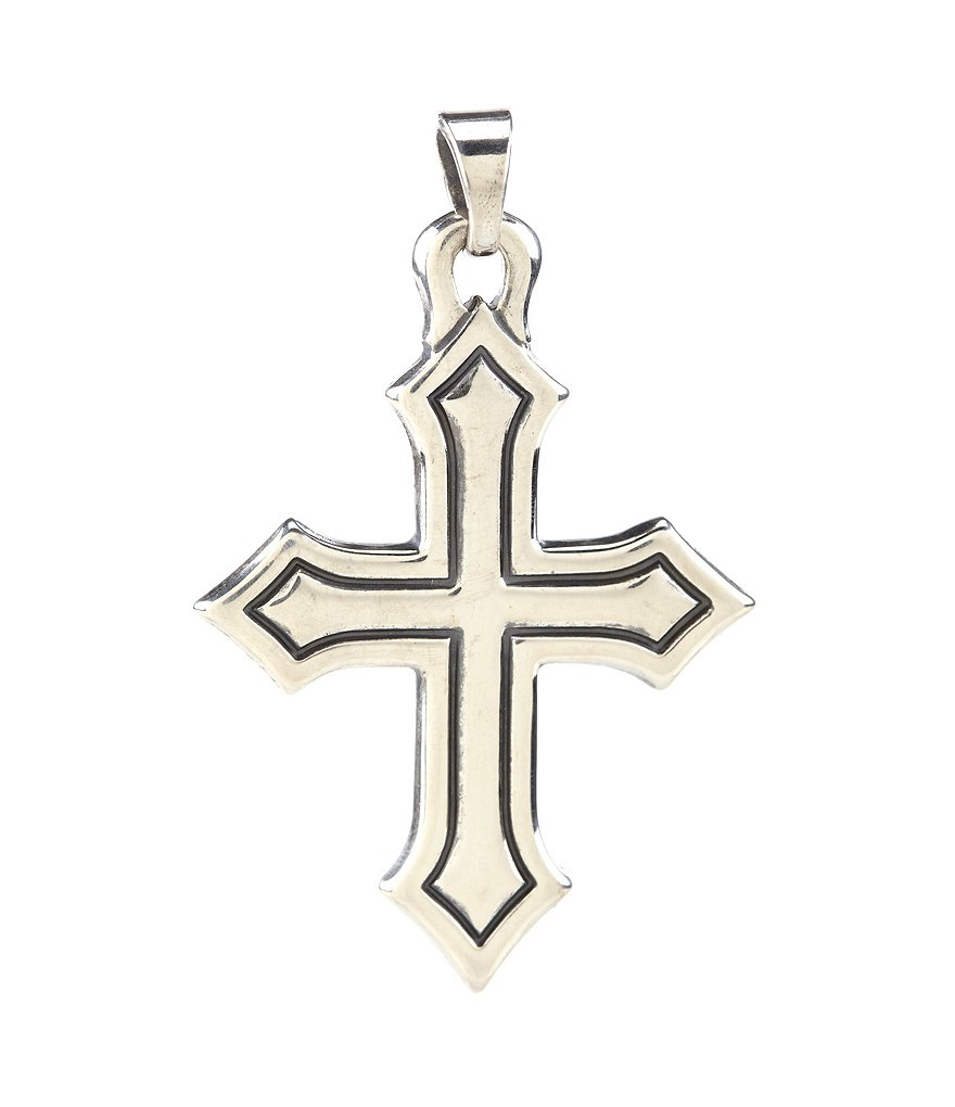 James Avery Sterling Silver Passion Cross Pendant