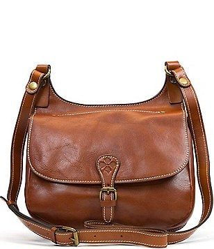 Patricia Nash Heritage Collection London Saddle Bag