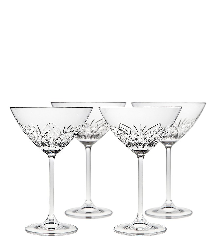Godinger Dublin Reserve Martini Glasses, Set of 4