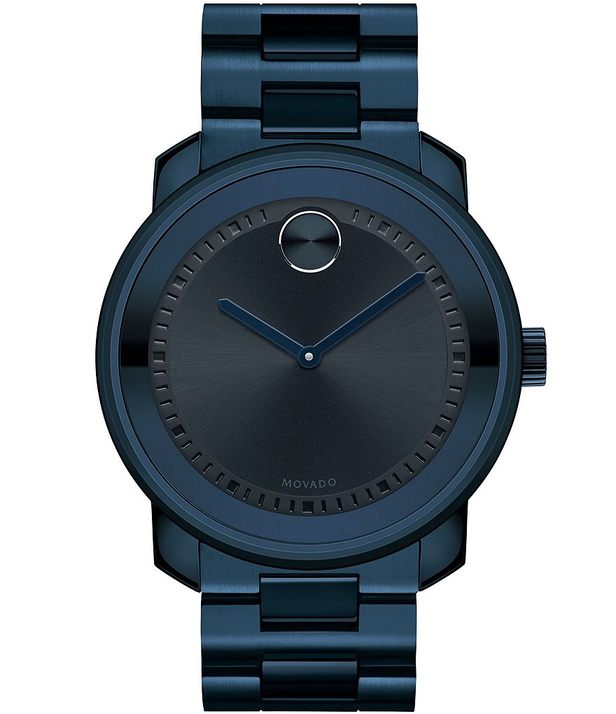 Movado Bold Large PVD Analog Watch