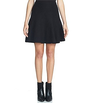 1. STATE Fit-and-Flare Mini Skirt
