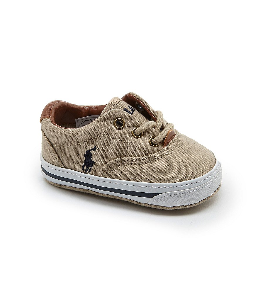 ralph lauren baby boys vaughn canvas shoes dillards