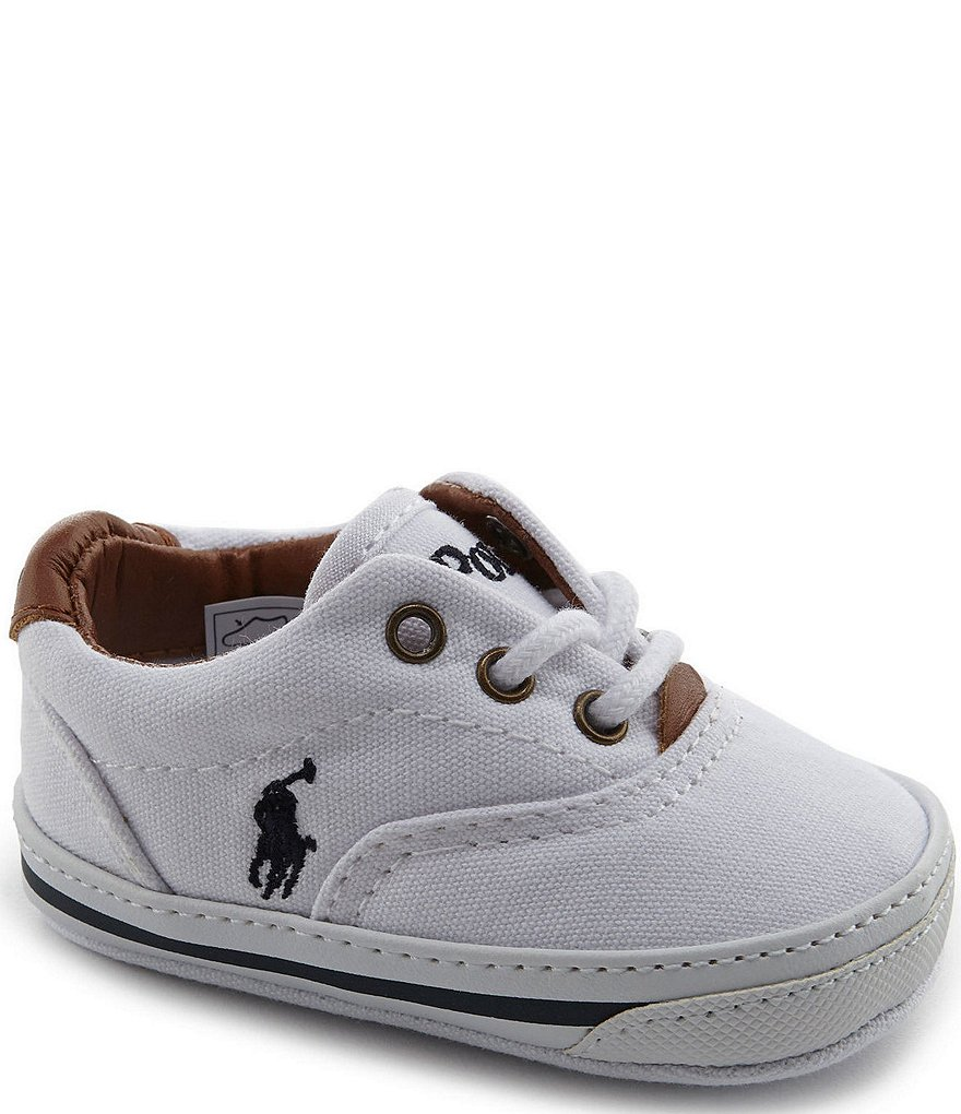 Ralph Lauren Baby Boys Vaughn Canvas Shoes