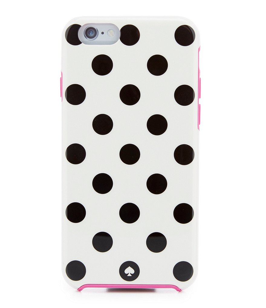 kate spade new york Le Pavillion Polka-Dot Resing and Rubber iPhone 6 Case