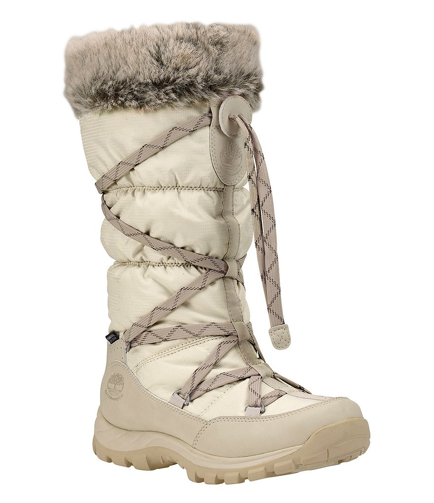 Timberland Over the Chill Cold Weather Waterproof Faux Fur Insulated Boots