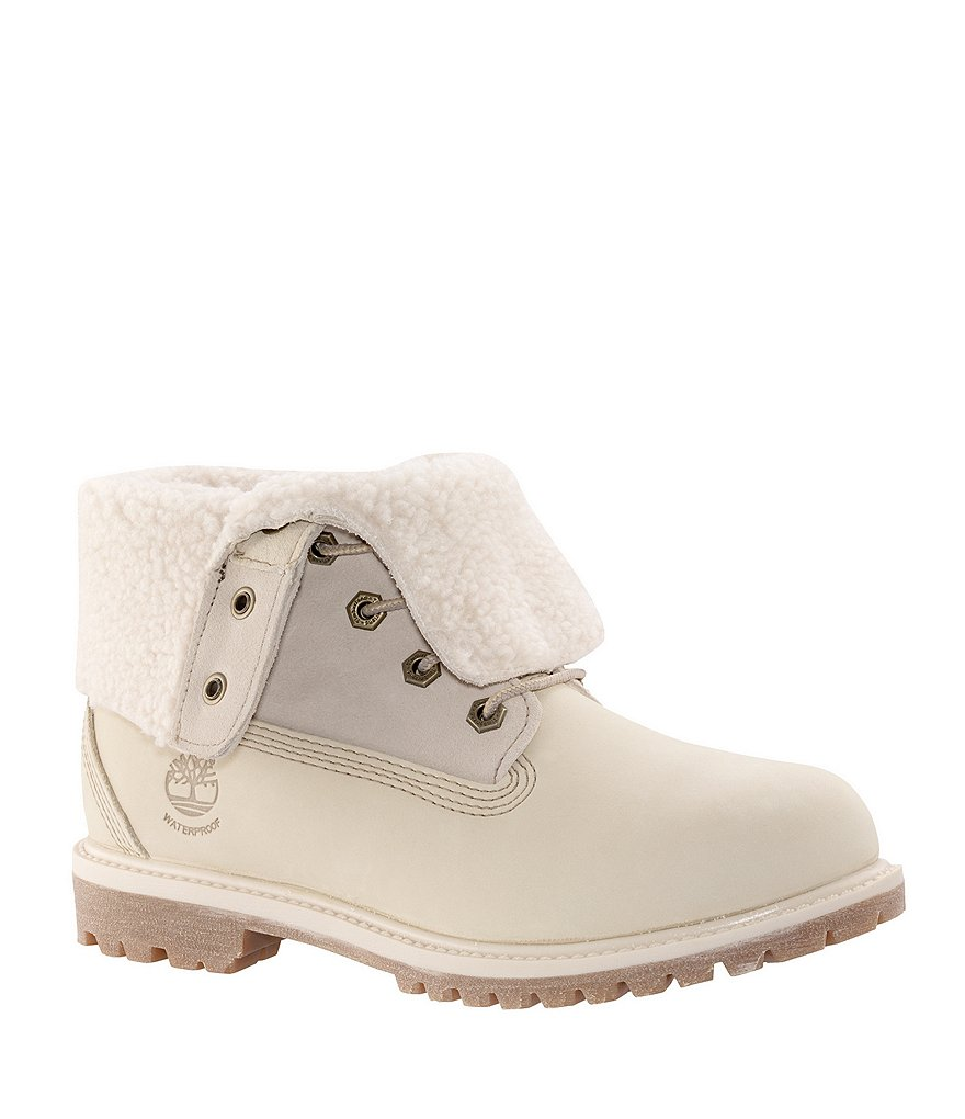 Timberland Women´s Teddy Fleece Fold-Down Waterproof Boots