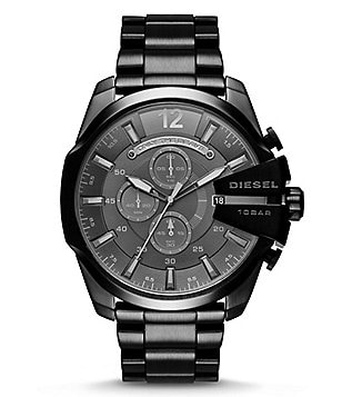 Diesel Men´s Mega Chief Stainless Steel Chronograph Bracelet Watch