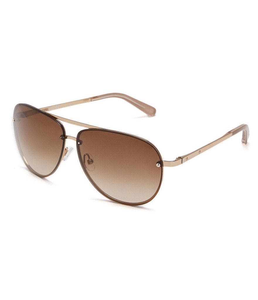 Bobbi Brown The Jackson Mirrored Lens UV Protection Aviator Sunglasses