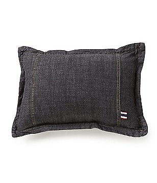 Cremieux Vintage Denim Breakfast Pillow